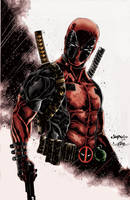 Wade Wilson by richyunspoken