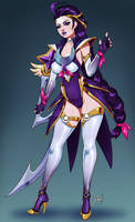 Star Guardian Diana by Xinaelle