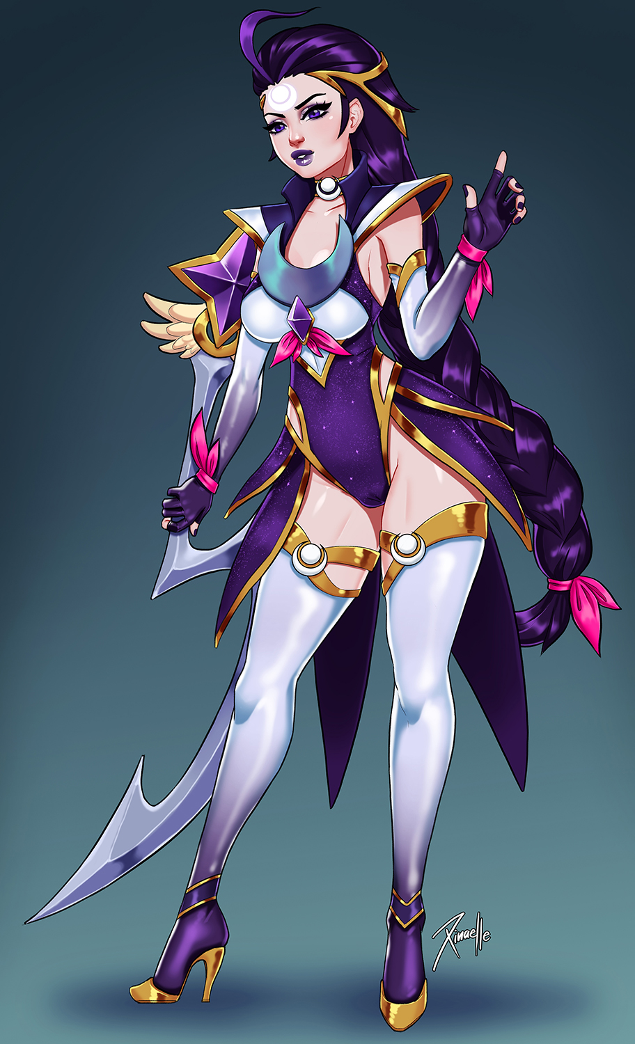Star Guardian Diana by Xinaelle on DeviantArt
