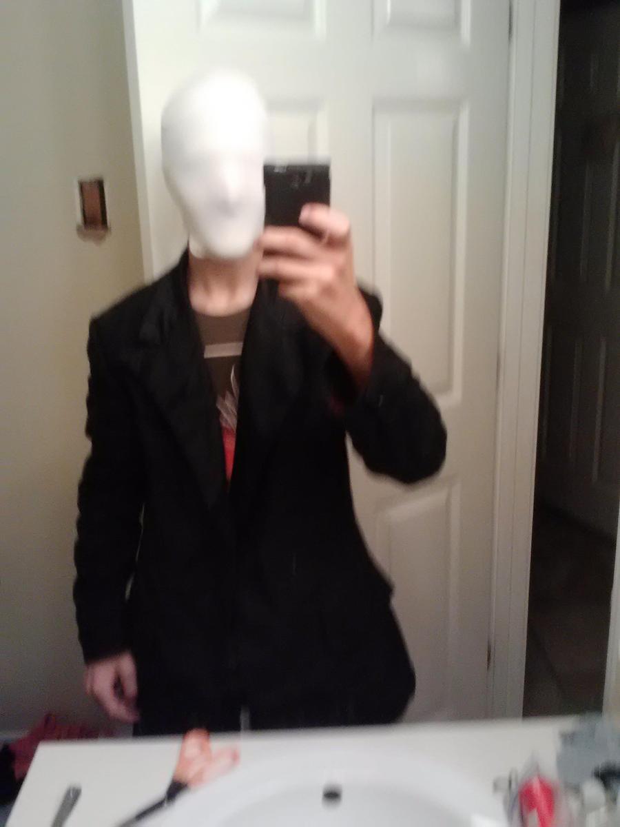 slender man halloween costume mask and jacket by mikeg360 - Halloween Costume Slender Man