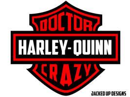 Harley Quinn - Harley Davidson logo modified