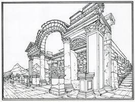 Roman Ruins by GregMayer