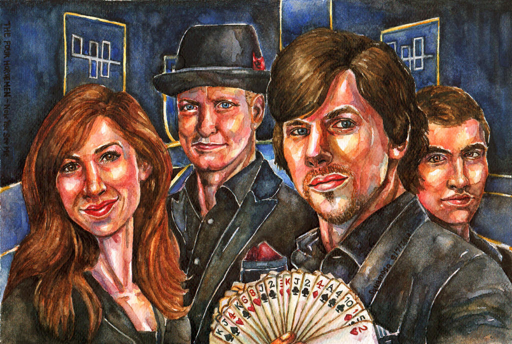 Now You See Me: The Four Horsemen by thaomani on DeviantArt