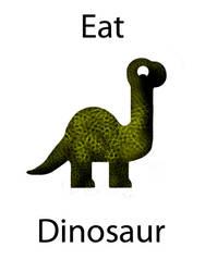 Eat Dinosaur by LuxceGirl