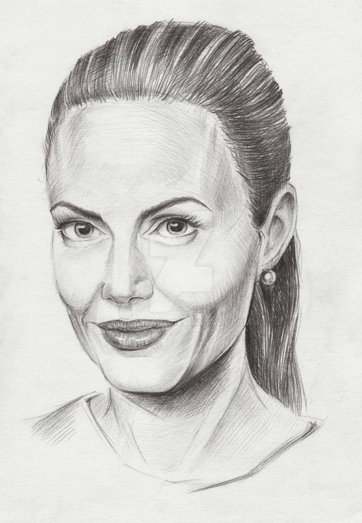 Angelina Jolie by Weallart