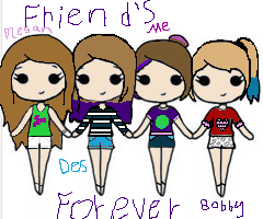 Friends by waterpainter1144