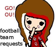 DOING FOOTBALL TEAM REQUEST!!! by waterpainter1144