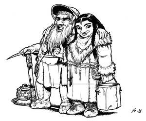 Dwarf couple
