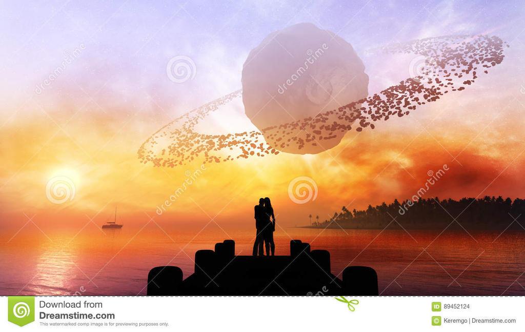 Couple-under-fantasy-sky-young-romance-type-celest by Kerem-Go