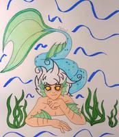 Ayuka the Merman