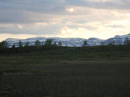 Dark mountain landscape by Just-Stocks