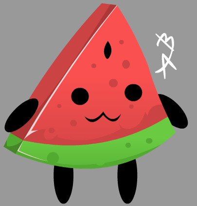 Watermelon by DexHearts
