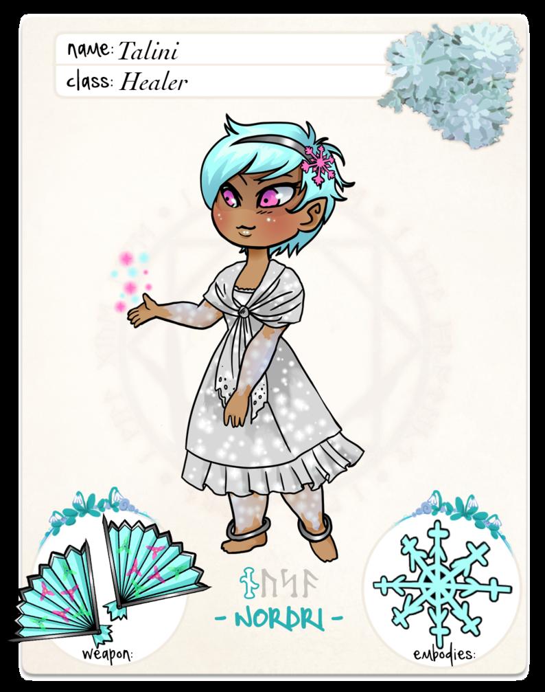 Talini  App 2: by SnowGirl325