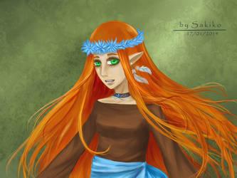 Lily (color) by S-A-K-I-K-O