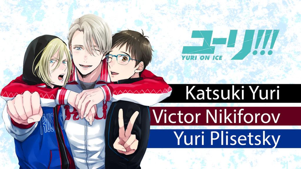 Yuri On Ice Wallpaper Yurio Victor Yuuri By