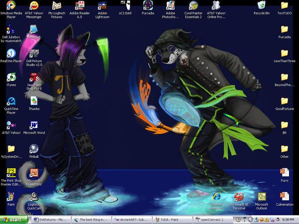 DeskTop by Topknot-Dragonbane