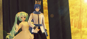 MMD request: prince and princess