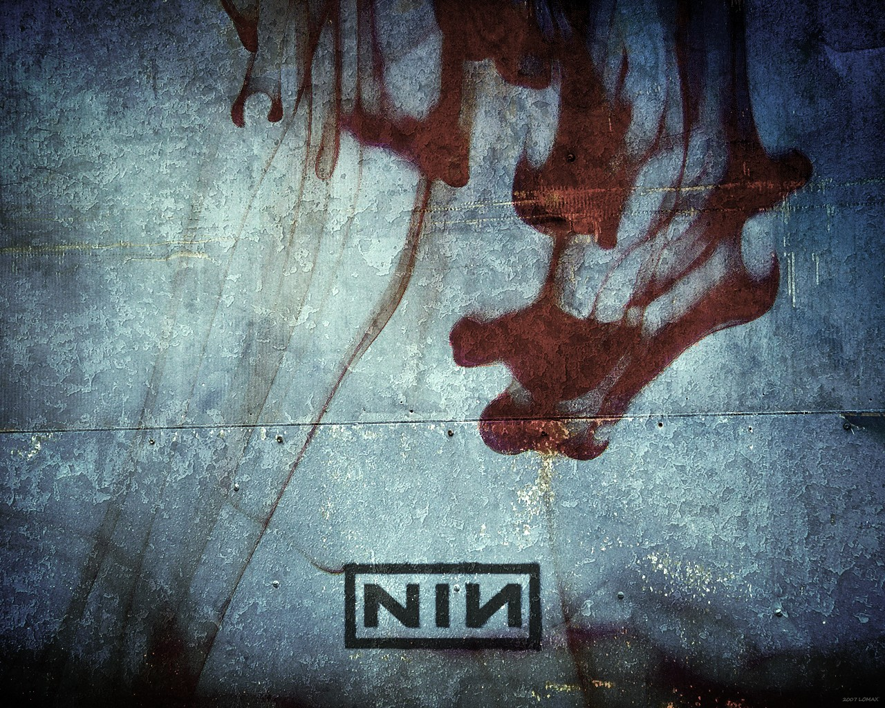 Nine Inch Nails - A Warm Place by leeunardo on DeviantArt