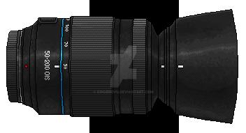 ...::Pixel Lens - Finished - V2::... by iKovu