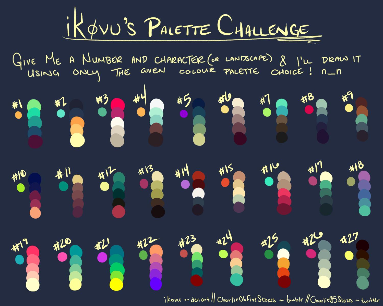 Ikovus Palette Challenge Resources By Kingbrovu On Deviantart