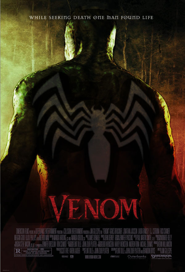 Venom Movie Poster by Omegacronalpha on DeviantArt