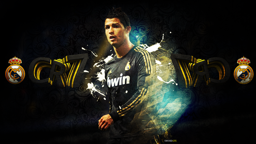 cr7 wallpaper by shifted gfx on deviantart