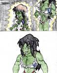 Gym hulk out pt 2