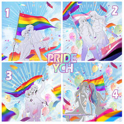 [OPEN] Pride YCH - A Time to celebrate