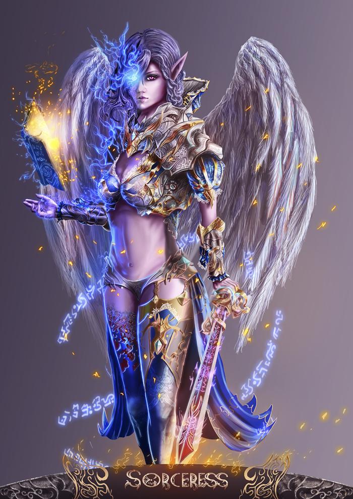 Sorceress by ArisT0te