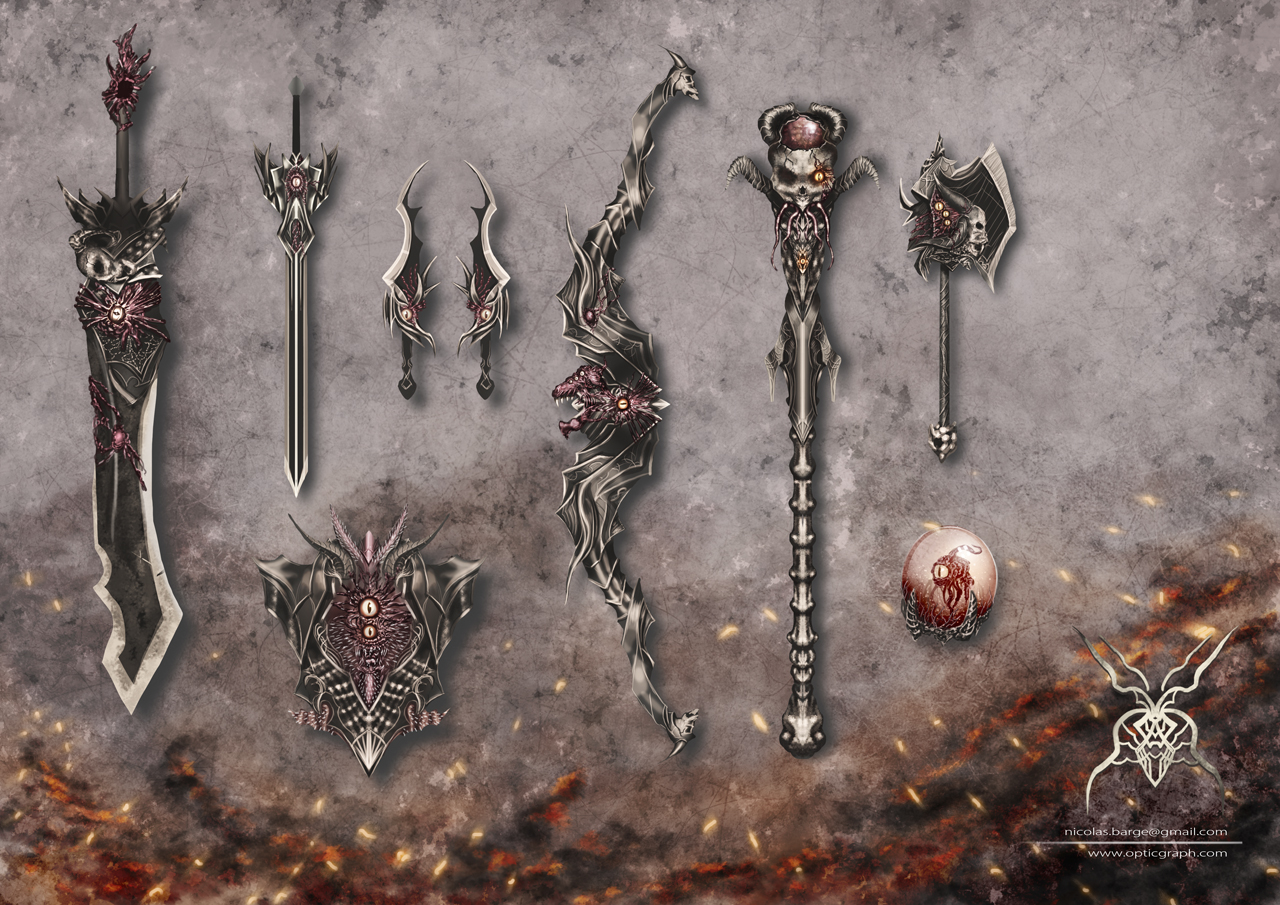 Corrupted weapons by ArisT0te