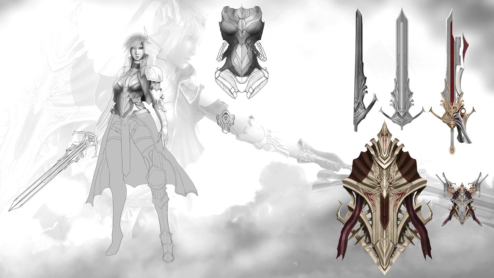 Lightning concept Sheet by ArisT0te
