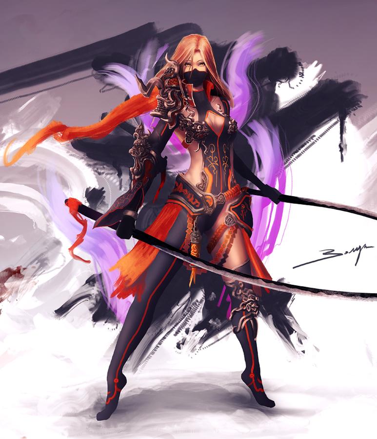 Ninja Assassin (concept art) by ArisT0te