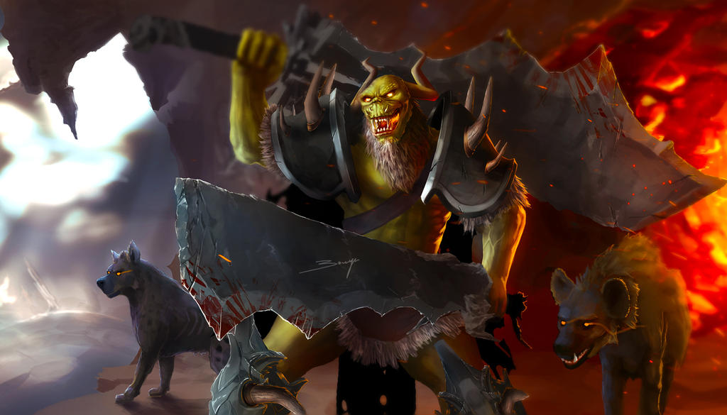 Orc warrior by ArisT0te