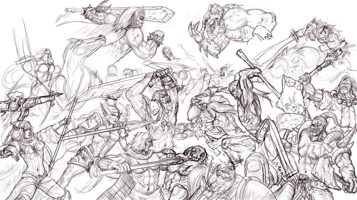 Battlesketch by ArisT0te