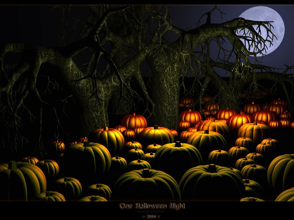 One Halloween Night by Digital-Virtuosity on DeviantArt
