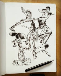 Quick sketches challenge by Rogaan