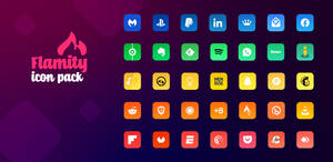 Flamity Icon Pack