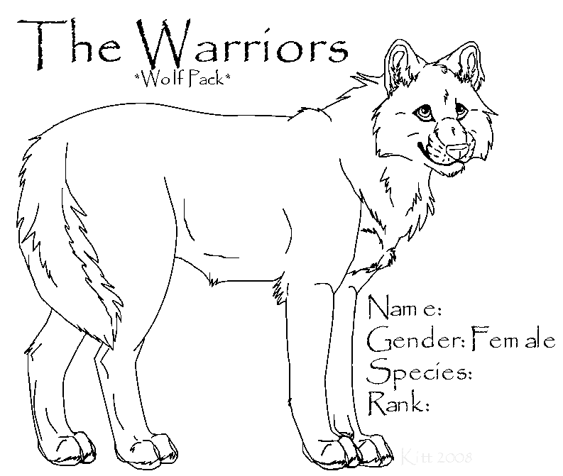 Warriors Wolf- Female Template by TheWarriors-WolfPack on ...