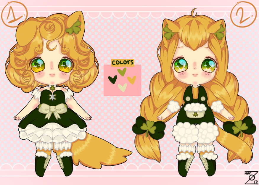 Saint Patrick's Day Adopts! (CLOSED, thanks!) by zovielle