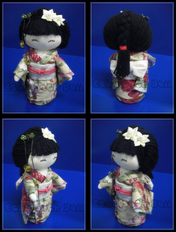 Kimono Sock Doll by httpecho