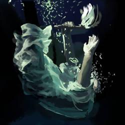 Dark water light study