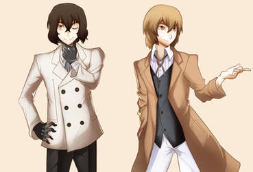 Goro and Dazai, The Ace Detectives by EvernoirAftermath