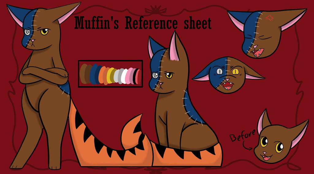 Meet Edge cat- I mean the outcast: Muffin! by Eveleencat