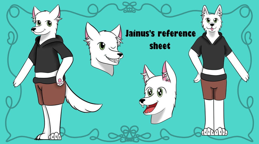Jainus Reference! (request) by Eveleencat