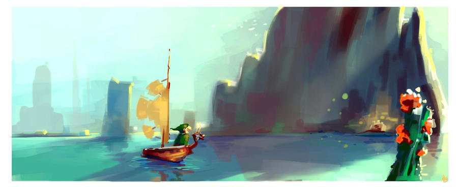 Link found a treasure by fuchy