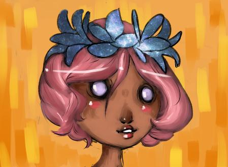 flowergirl by JollyGoodDay