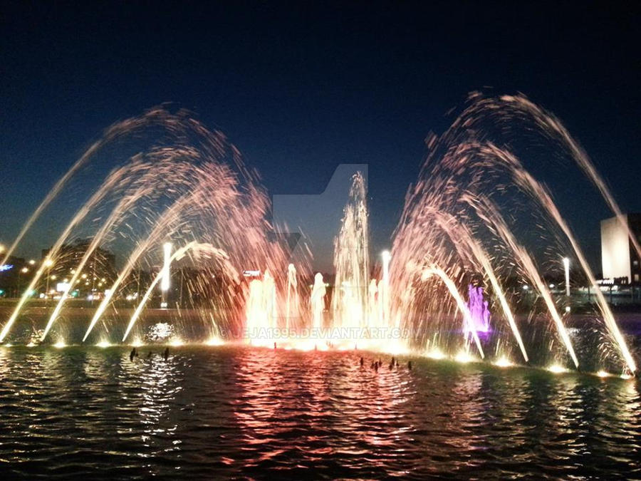 Belgrade Fountain by Jeja1995
