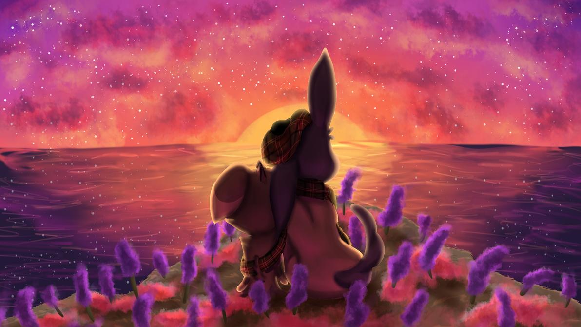 Team Glesca Romantic Sunset by SOSArtStuff