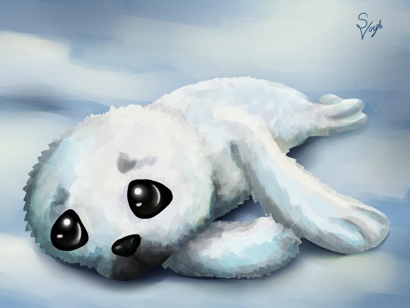 Seal by SOSArtStuff