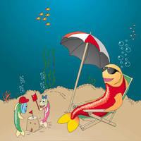 fish beach by saimon69